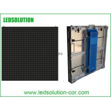 Exposição exterior dos meios do diodo emissor de luz da propaganda comercial de Ledsolution