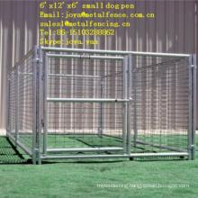 "Outdoor application hot dip galvanized 2""x4"" opening dog runs"