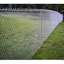 Galvanized Iron Wire Mesh Chain Link Privacy Fence Panels (anjia-188)
