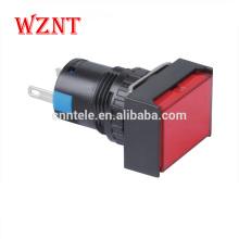 прямоугольный тип аварийной кнопки микропереключатель светодиодный индикатор