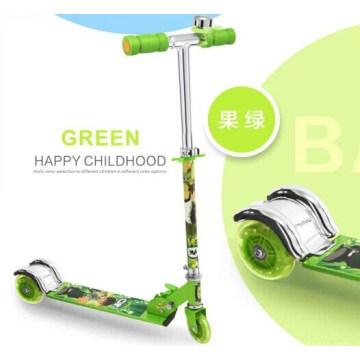 Kids Kick Scooter avec 100mm PU Wheel (BX-3M005)