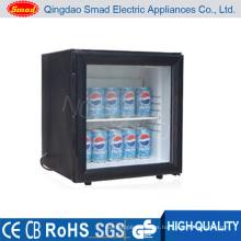 Mini refrigerador del coche de la puerta de cristal 12V mini