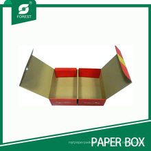 Double Folding Corrugated Fruit Packaging Box