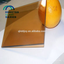 Low price 2mm 3mm 8mmcolor tempered float glass
