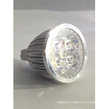 Nouveau Dimmable DC 12V MR16 5X1w Down Light Spotlight Ampoule