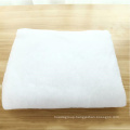 100% Polyester artificial snow blanket fabric outdoor new fallen snow blanket roll use for display