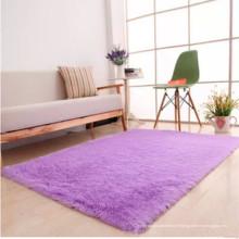 conceptions de tapis de prière shaggy de soie moderne en Chine