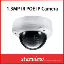 1.3MP Poe Vandalproof IR CCTV de seguridad de la red IP Dome Camera