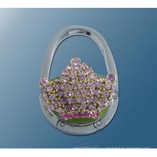 Металл круглой формы складной сумочке крюк кошелек стол крюк