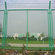 PVC Green Wire Mesh Fence Panels for Farm