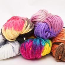 Garn Faser Baby Strick Wolle Chunky Garn für Socke