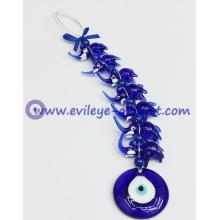Wholesale Evil eye seven loop elephant pendant car home wall decoration