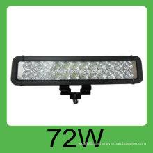 Luz de trabajo llevada auto portable de la alta calidad 72W DC10-30V