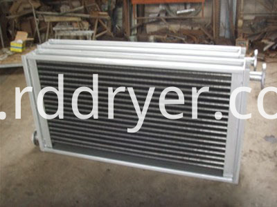 aluminum and plastic tank car radiator