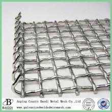 Galvanized Crimped Wire Mesh UK (Baodi Manufacture ISO9001:2000)