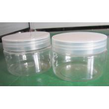 Botella de plástico, Pet Jar, cosméticos Jar, cosméticos botella