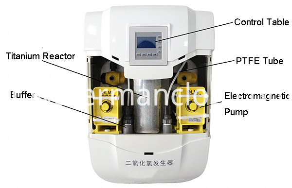 Odor Cleaner Making Machine-structure