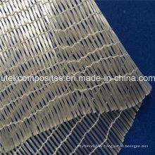 Tela unidireccional de alta resistencia 160G / M2 unidireccional de la fibra de vidrio