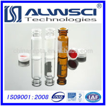 China supplier glass+bottle 2ml snap vial autosampler vial for HPLC