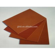 Placa de papel fenólico resistente à alta temperatura