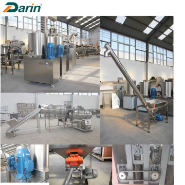 DARIN Gefabriceerde Core Filled Food Extruding Machinery