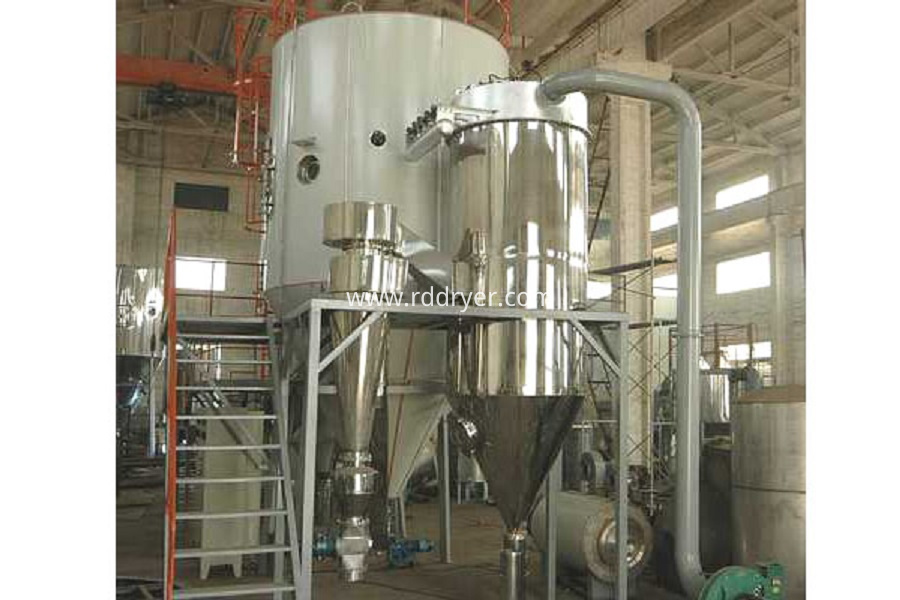 resin pressure spray dryer