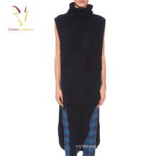Женщин Модные Приталенный Пушистый Черный Свитер