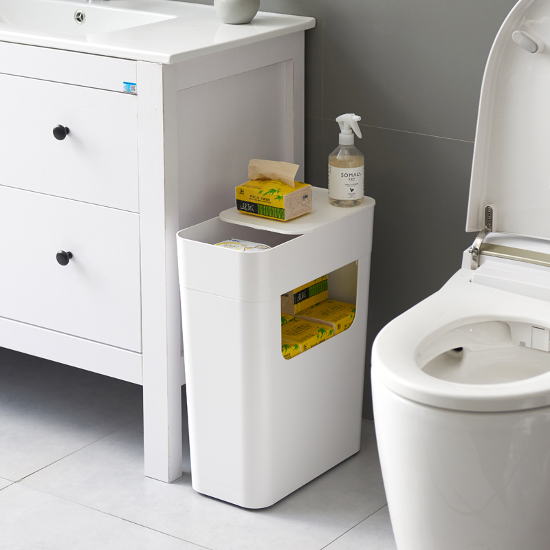 Household Roller Storage Bucket