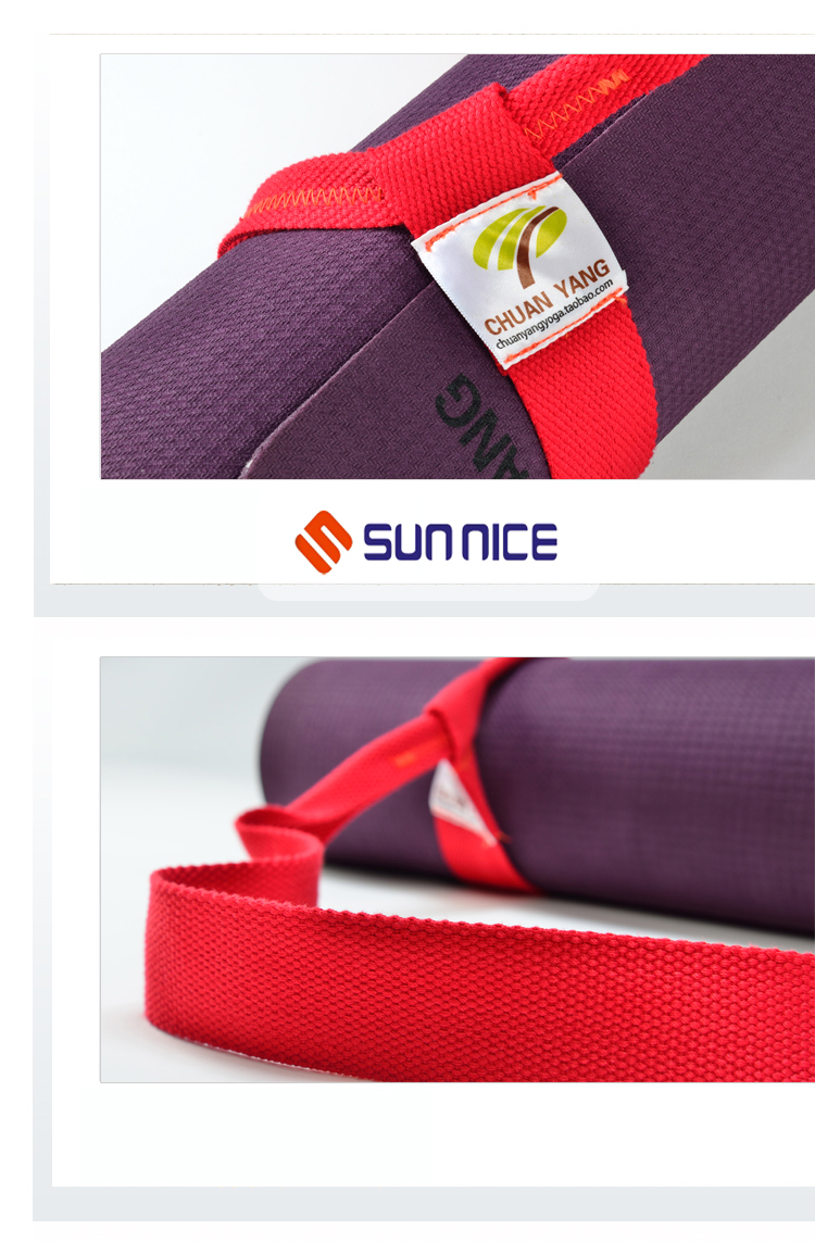 yoga mat carry straps