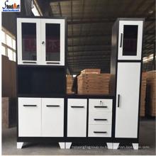 Модульные дешевые кладовой шкаф кухонный шкаф простой дизайн