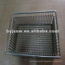 Stainless Steel Wire Mesh Basket For Disinfection