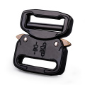 25mm Heavy Duty 18KN Steel Tactical Military Black Electrophoresis Cobra Belt Buckle