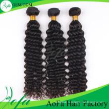 7А класс Виргинские волос волны человеческих волос Remy утка