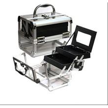 Les nouveaux cas cosmétique acrylique blanc de mode (hx-q060)