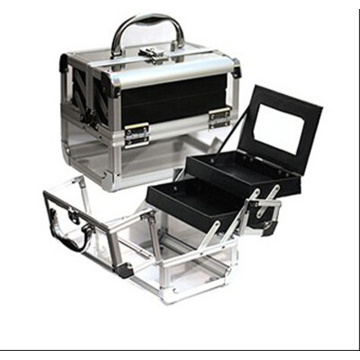 The New Fashion White Acrylic Cosmetic Cases (hx-q060)