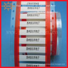 Luva do marcador do cabo de fio / tubo amarelo do psiquiatra do calor