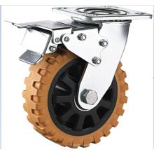 Rueda de la rueda del cojinete de la bola doble resistente de la llama
