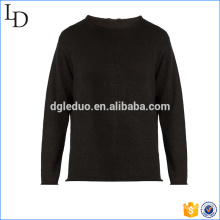 Top quality black sweater mens latest sweater design manufacturer in China