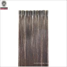 "Straight 20"" Brazilian 100% Human Virgin Remy Hair Extension V-Tip Hair"