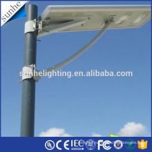 Горячий производитель фарфора продажи все в одном солнечном светодиодный уличный фонарь с CE и ROHS ISO IP65 водонепроницаемые огни дороги