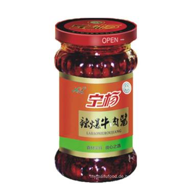 Würzige Rindfleisch-Chili-Sauce