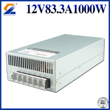 12V 83.3A 1000W Power Supply