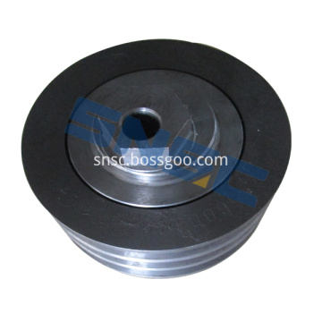 Suku Cadang Mesin Weichai 61560060069 Tension Pulley SNSC