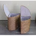 Water Hyacinth Laundry Basket - Set of 2