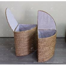 Water Hyacinth Laundry Basket - Juego de 2
