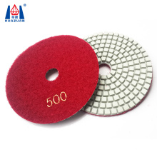 Wet type granite diamond polishing pads for angle grinder