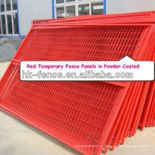 Panneau de clôture temporaire 8Ftx10Ft Canada pour la sécurité des fournisseurs