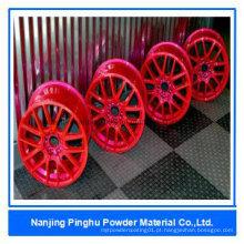 Revestimento e pintura de resina epoxi baratos vermelhos