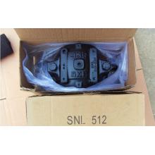 Ветряные мельницы Пластмассовый подшипник Snl512-610 Корпуса блоков подушек Snl