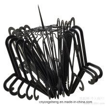 Molde plástico dos ganchos de roupa dos produtos do agregado familiar